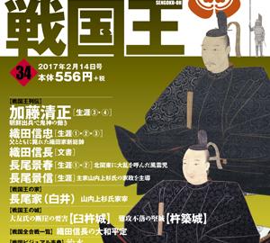 週刊ビジュアル戦国王34号