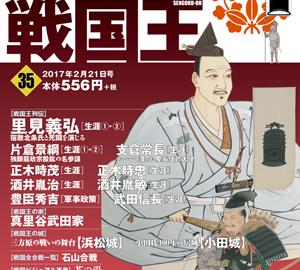 週刊ビジュアル戦国王35号